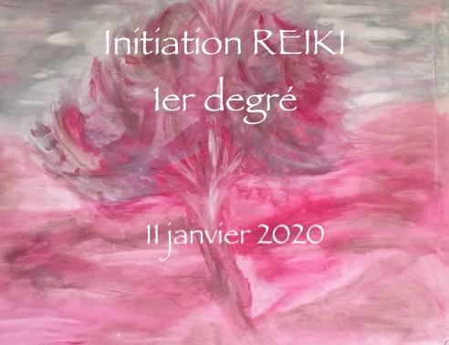 Initiation Reiki 1er degré Annie Ambert